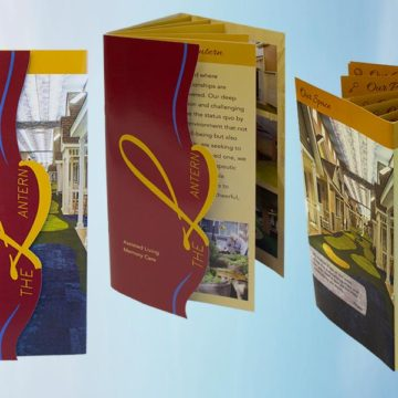 Custom Brochure w/Die Cut Cover